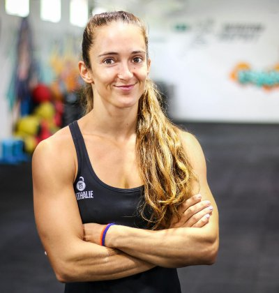 Nathalie Bruynooghe - CrossFit Coach - at Unit 27 gym, Phuket, Thailand